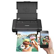 Inkjetprinter Canon PIXMA TR150, mobiel, tot A4, WLAN/USB-Print, zwart-wit en kleur, met batterij