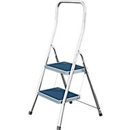 Inklapbare trap van aluminium Toppy XL, 2 treden