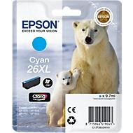 Inktcartridge Epson T2632XL cyaan