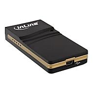 InLine - externer Videoadapter - Schwarz