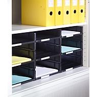 Insert à casiers, pour armoire à rideaux, pour 800 mm, à 8 casiers