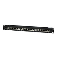 Intellinet Cat6 Shielded Patch Panel - Patch Panel - 1U - 19