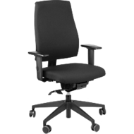 Interstuhl bureaustoel GOAL 152G, synchroonmechanisme, met armleuningen, zittijd langer dan 8 uur, tot 130 kg