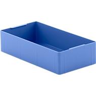Inzetbak EK 14-4, blauw, PE, 12 stuks
