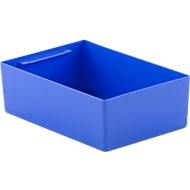 Inzetbak EK 4021, PP, blauw, 20 stuks