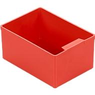 Inzetbak EK 502, PS, 40 stuks, rood