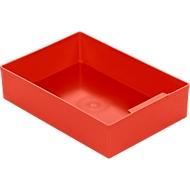 Inzetbak EK 504, PS, 10 stuks, rood