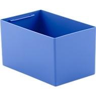 Inzetbak EK 6042, PP, blauw, 20 stuks