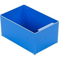 Inzetbak EK 753, blauw, PP, 10 stuks