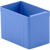 Inzetbak, polystyreen, L 137 x B 87 x H 96 mm, blauw, 16 st.