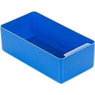 Inzetbak, polystyreen, L 180 x B 96 x H 60 mm, blauw