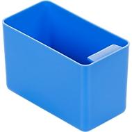 Inzetbak, polystyreen, L 90 x B 48 x H 60 mm, blauw