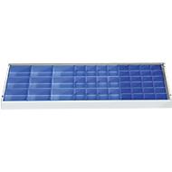 Inzetbakjes set voor gereedschapskasten, 45-dlg., blauw
