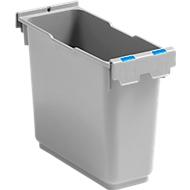 Inzetstuk 6 liter voor enkele rolemmer Poly II, markering, blauw