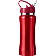 Isolierflasche Glauchau, 0,5 Liter, rot