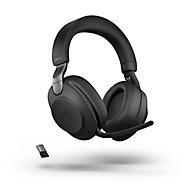 Jabra Headset Evolve2 85 Stereo, Bluetooth, MS Teams, batterij 26h (gesprekken) o. 37h (muziek), zwart