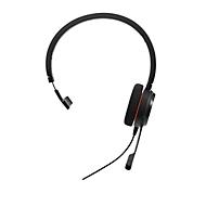 Jabra On-Ear Headset Evolve 20 UC, USB, Schaumstoff-Ohrpolster, Mono
