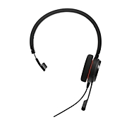 Jabra On-Ear Headset Evolve 20 UC, USB, schuimrubberen oorkussens, mono
