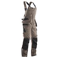 Jobman tuinbroek 3730 PRACTICAL, met knie- en holsterzakken, kaki/zwart, maat 44