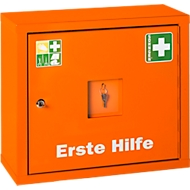 Juniorsafe Norm, mit Inhalt, B 490 x H 420 x T 200 mm, orange