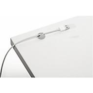 Kabel-Clips CAVOLINE® CLIP, selbstklebend, für 1 Telefon- oder USB-Kabel bis Ø 5 mm, 6 Stück, grau