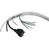 Kabel-Spiralschlauch, transparent
