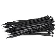 Kabelbinder, 200 x 4,6 mm, schwarz, 100 Stück