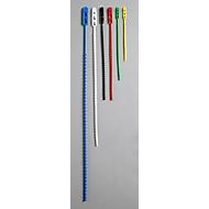 Kabelbinders, 500 x 4,0 mm, blauw
