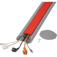 Kabelbrücken B15 EasyLoader Flexi, 1500 mm, rot