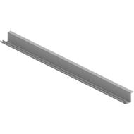 Kabelgoot ARLON-OFFICE, 1200 x 1400 mm, aluminium zilver