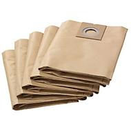 KÄRCHER papieren filterzakken voor nat-/droogzuiger NT 27/1, pak van 5 stuks