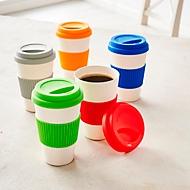 Kaffeebecher, 400 ml, Grau, Standard, Auswahl Werbeanbringung optional