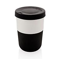 Kaffeebecher, Schwarz, Standard