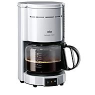 Kaffeemaschine Braun KF47/1, weiß