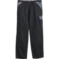 KANSAS® broek met tailleband Color, zwart/grijs, m. 56