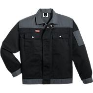 KANSAS® Bundjacke Color, schwarz/grau, Gr. S