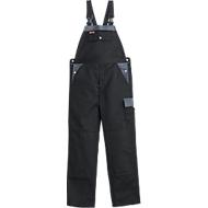 KANSAS® Latzhose Color, schwarz/grau, Gr. 44