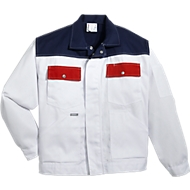 KANSAS® Maler-Bundjacke Color, weiß, Gr.S
