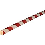 Kantenschutzprofil Typ G, 1-m-Stück, weiß/rot