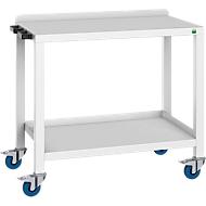 Kantoorwagen Verso, belastbaar tot 300 kg, B 1000 x D 600 x H 890 mm, lichtgrijs