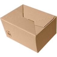 Kartonnen dozen met automatische bodem, A5, 220 x 155 x 40-108 mm, 25 stuks