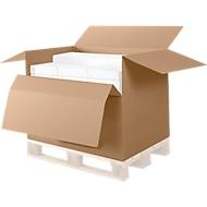 Kartonnen dozen voor op pallets/containers, 785 x 585 x 500 mm, 10 stuks