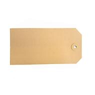 Kartonnen hanglabels 40 x 80 mm, 1000 st.