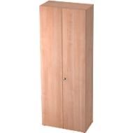 Kast TOPAS LINE, archief-/garderobekast, 6 ordnerhoogten, B 800 mm, notenboom