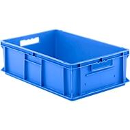 Kasten im EURO-Maß EF 6180, ohne Deckel, 35,4 l, blau