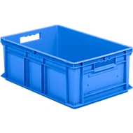 Kasten im EURO-Maß EF 6220, ohne Deckel, 43,5 l, blau