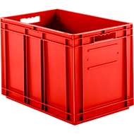 Kasten im EURO-Maß EF 6420, ohne Deckel, 83,8 l, rot