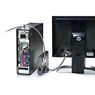Kensington Peripherieschloss K64615EU, f. Desktop-PC u. Peripheriegeräte, Kabel 2,4 m