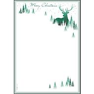 Kerstmotiefpapier