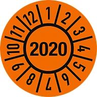 Keuringsvignet (2020), Ø 15 mm, 100 stuks